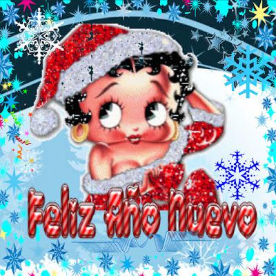 Feliz Año Nuevo Betty Boop
