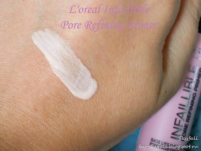 L'Oreal Infaillible Pore Refining Primer, отзывы
