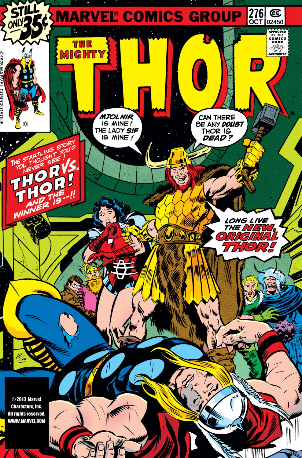 Thor (1966) 276 Page 1