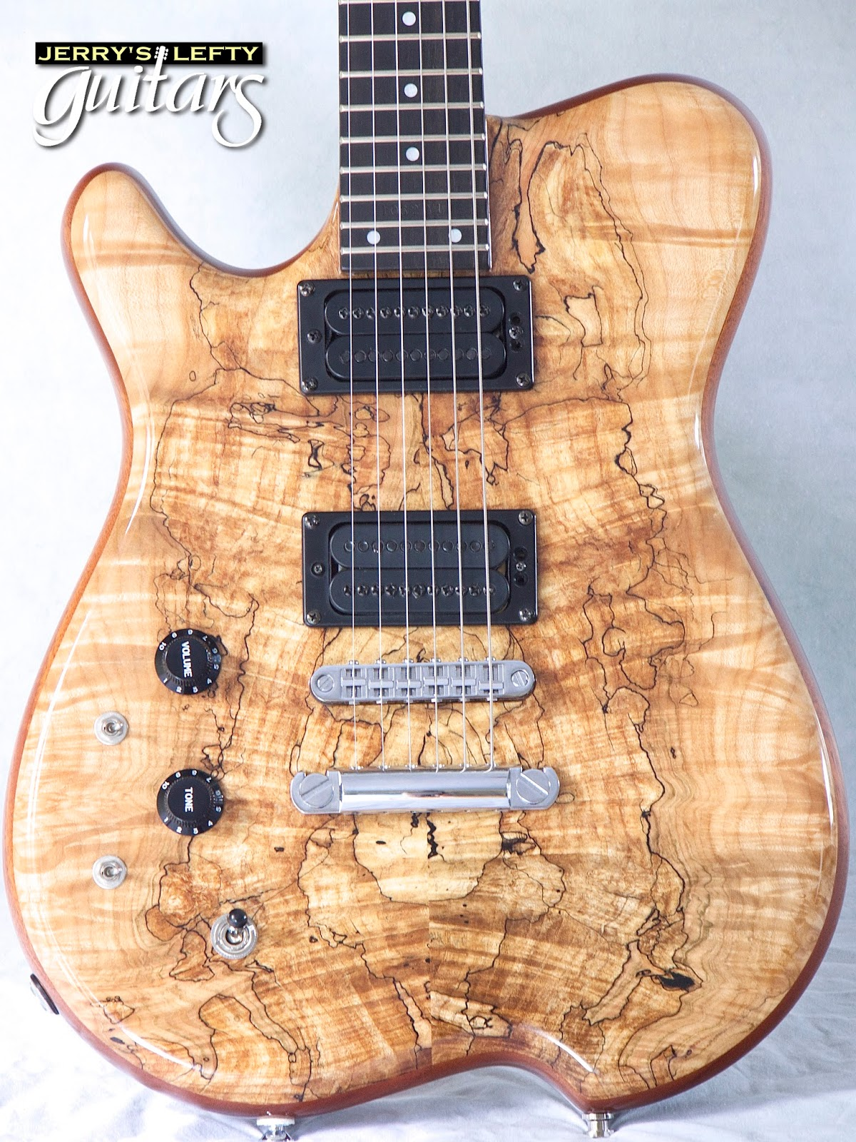 jerry 39 s lefty guitars newest guitar arrivals updated weekly carvin holdsworth spalted maple. Black Bedroom Furniture Sets. Home Design Ideas