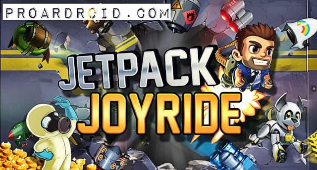 تحميل لعبة  Jetpack Joyride APK النسخة المهكرة للاجهزة الاندرويد