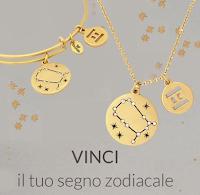 Logo Vinci gratis collana o bracciale con il tuo segno zodiacale