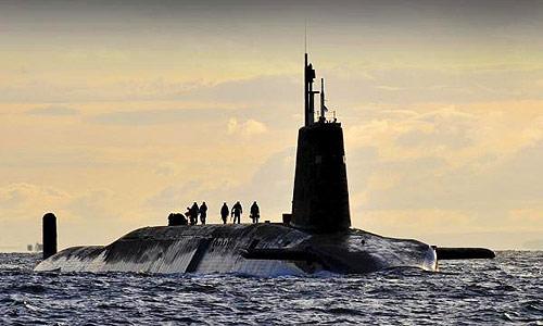 Inggris Rancang Kapal Selam Siluman Untuk Masa Depan