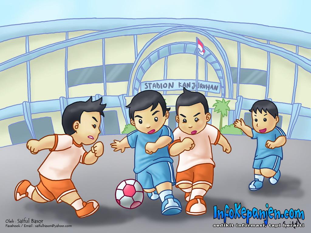 Gambar Kartun Animasi Sepak Bola Blog Kata2