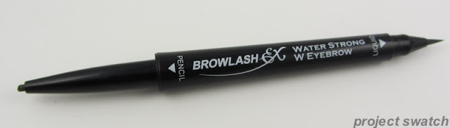 Browlash Water Strong W Eyebrow Review & Swatches