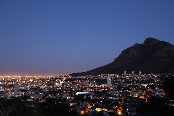 Tafelberg, Kapstadt, Südafrika