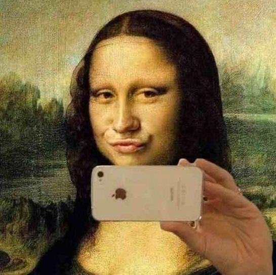 selfie joconde leonardo da vinci instagram facebook like influencers diventare influencer blogging blogger chiara ferragni mdv zairadurso fashio's obsessions