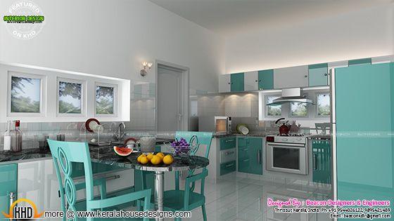 Kitchen colour tone
