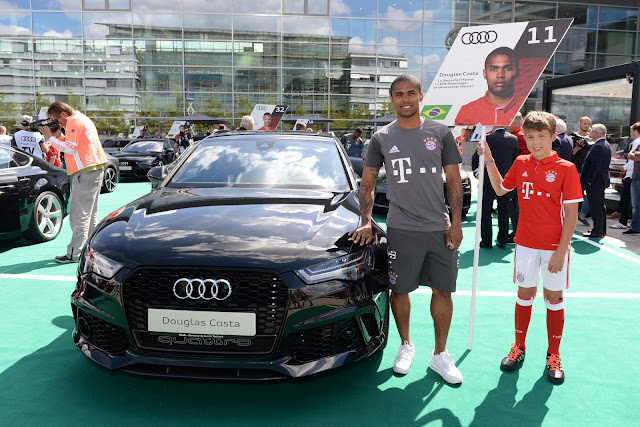 Douglas Costa - carro - Audi RS6