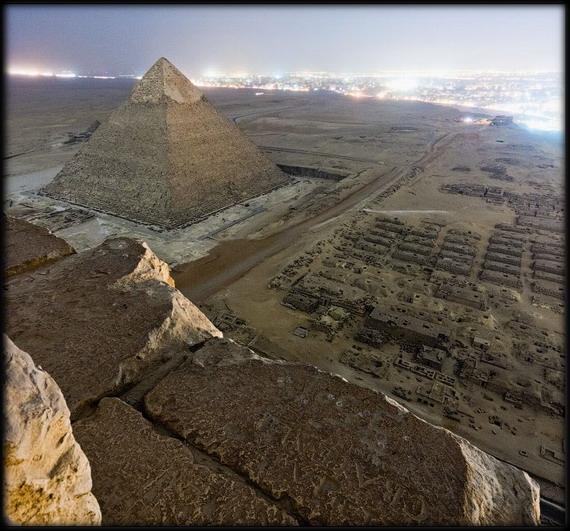 giza 5 - Increíbles fotos de la parte superior de la pirámide de Giza