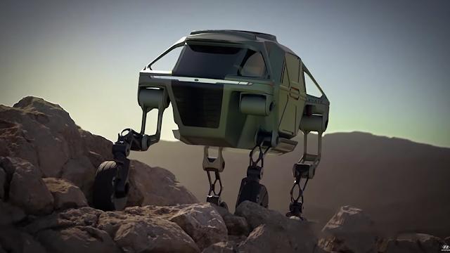 Hyundai Elevate, mitad auto... ¿mitad robot?