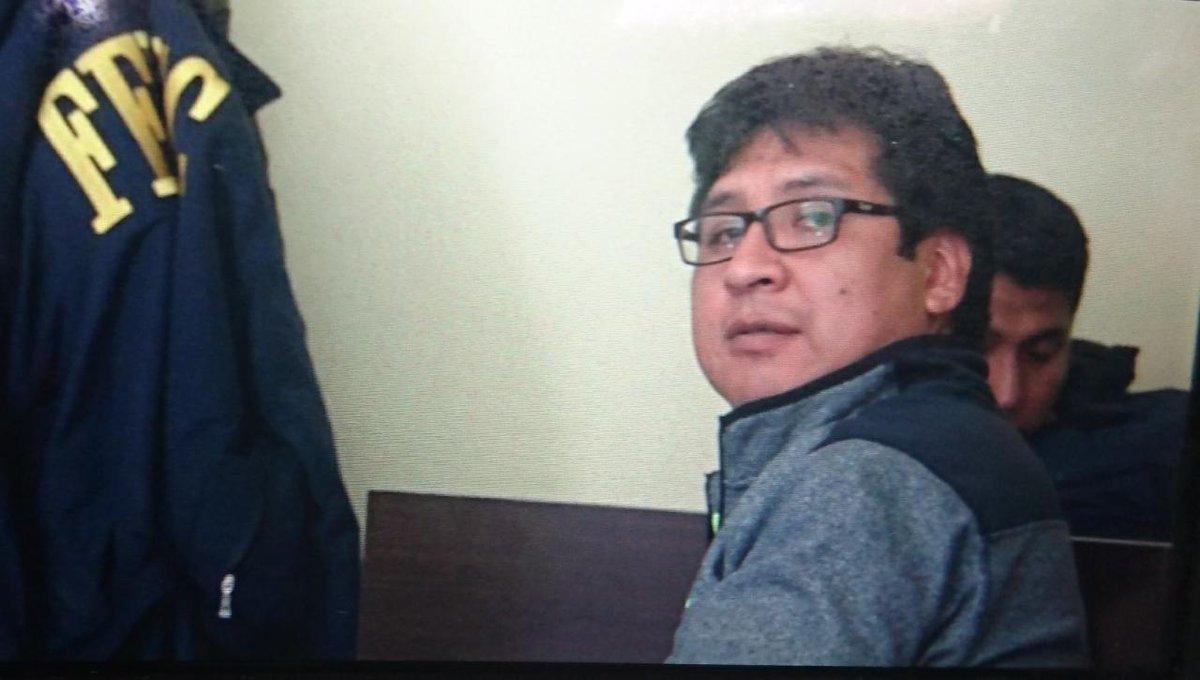 Alanoca se presentó a declarar y fue arrestado por la FELCC / CAPTURA PANTALLA ABYA YALA