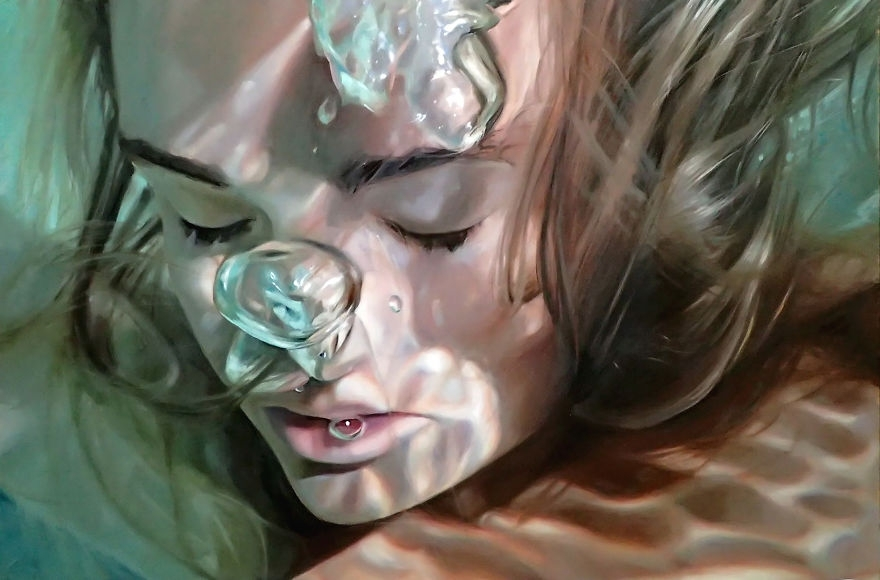 03-Reisha-Perlmutter-Realistic-Paintings-that-Capture-a-Moment-in-Time-www-designstack-co