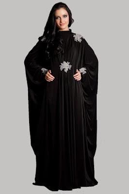 Model Baju Muslim Lebaran Wanita Gemuk Terbaru