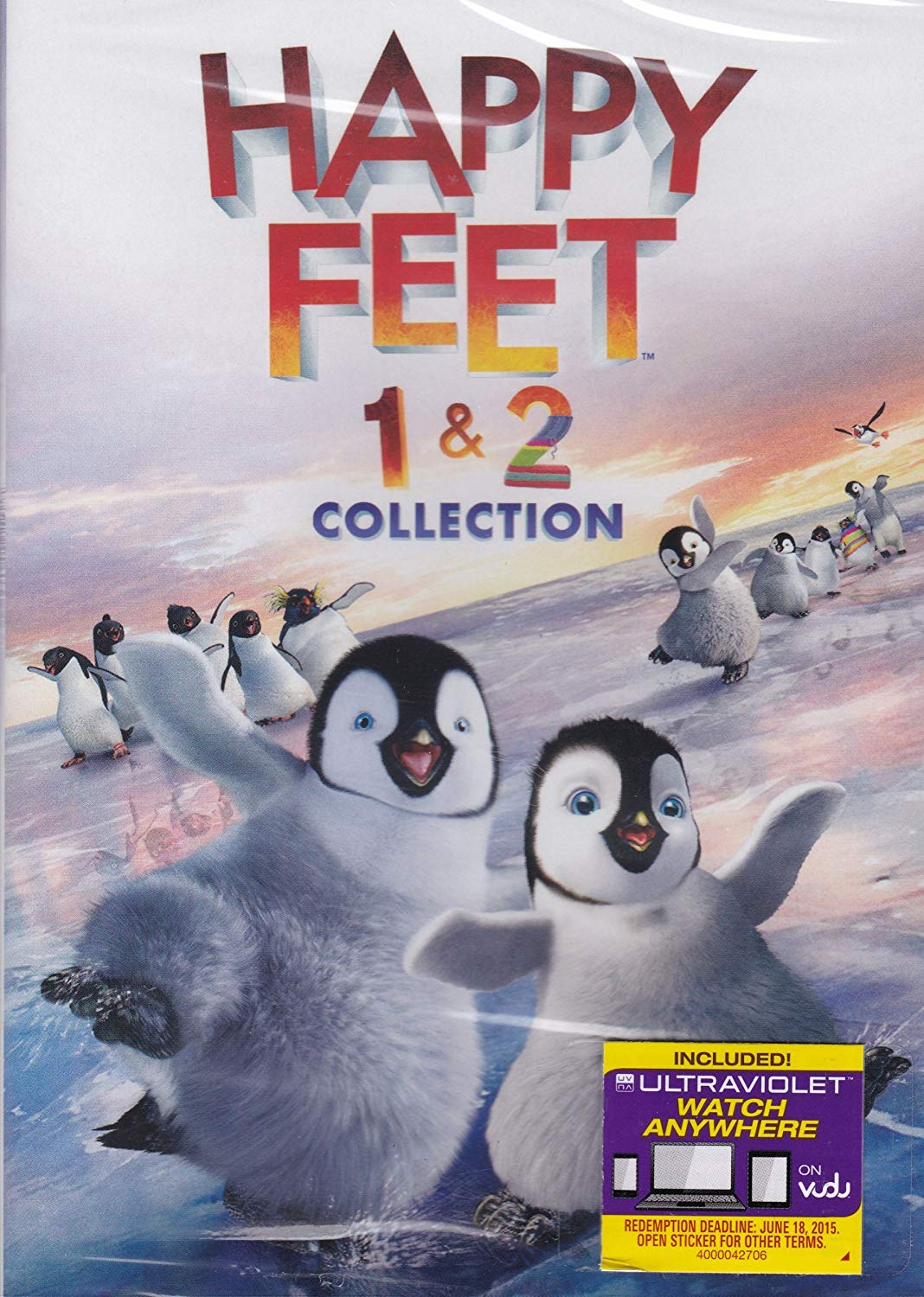 Happy Feet (2006) Dual Audio Hindi 350MB BluRay 480p