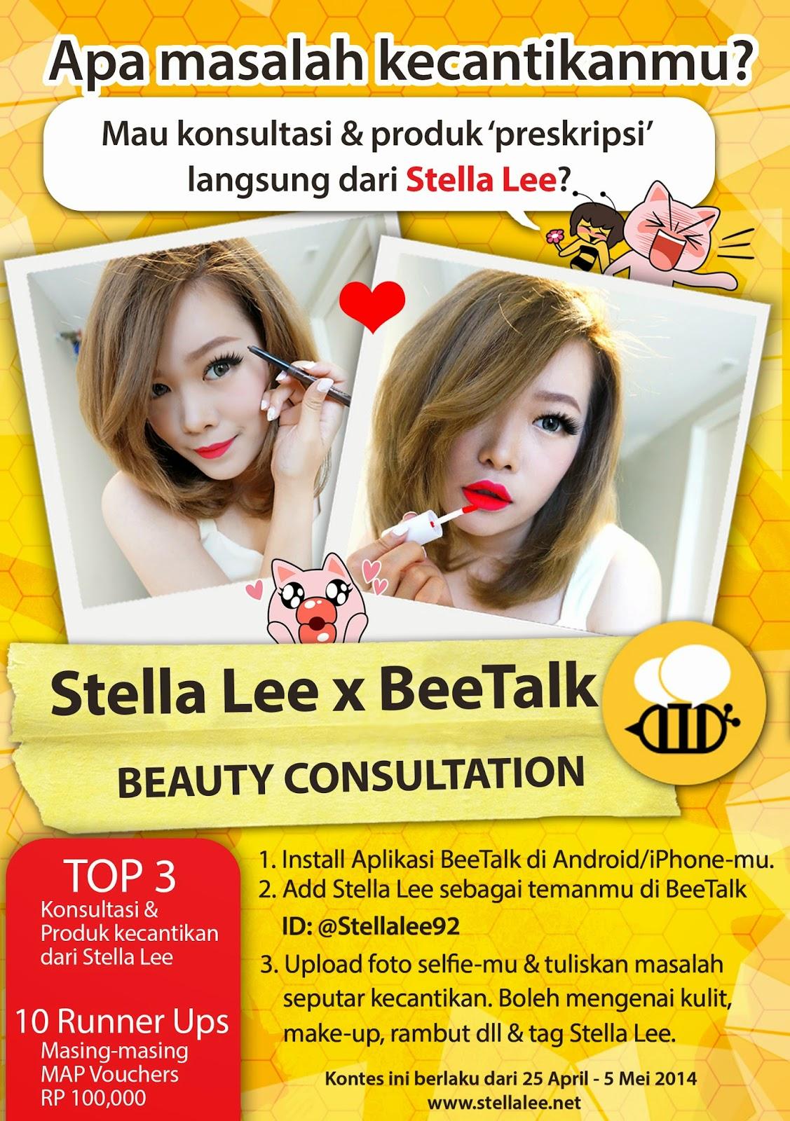 Stella Lee X Bee Talk Beauty Consultation - Stella Lee