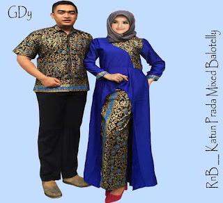 setelan baju batik couple