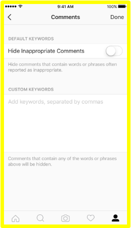 Instagram Has a New Way to Keep You From Seeing Offensive Comments