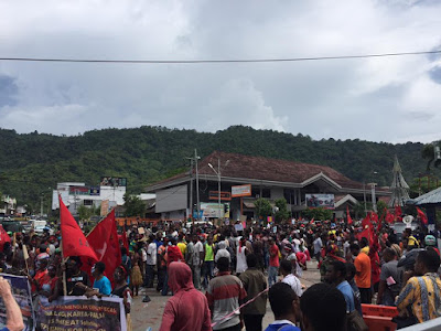 Over 1000 detained in Papua for protesting