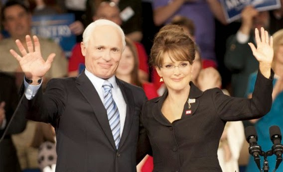 Game Change Ed Harris Julianne Moore John McCain Sarah Palin