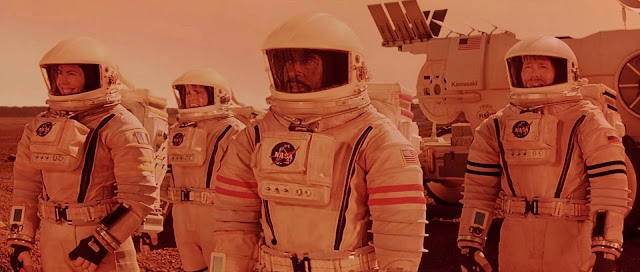 Astronauts on Mars - Mission to Mars movie image