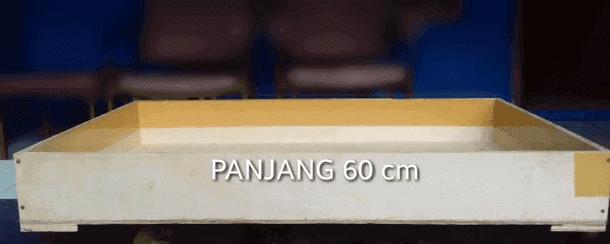 Panjang Kotak 60 cm