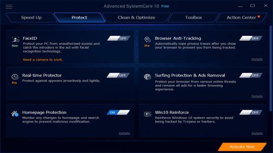 Advanced SystemCare 10.0.3.6 Screenshot 2