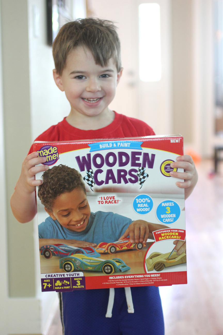 Wooden Cars Activity Kit And Giveaway Repeat Crafter Me