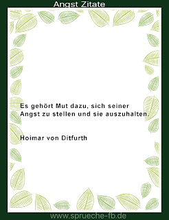 Angst Zitate