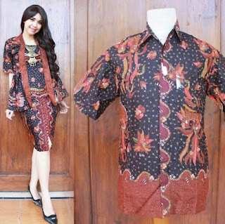 Model Kebaya Batik Couple Elegan Rok Pendek