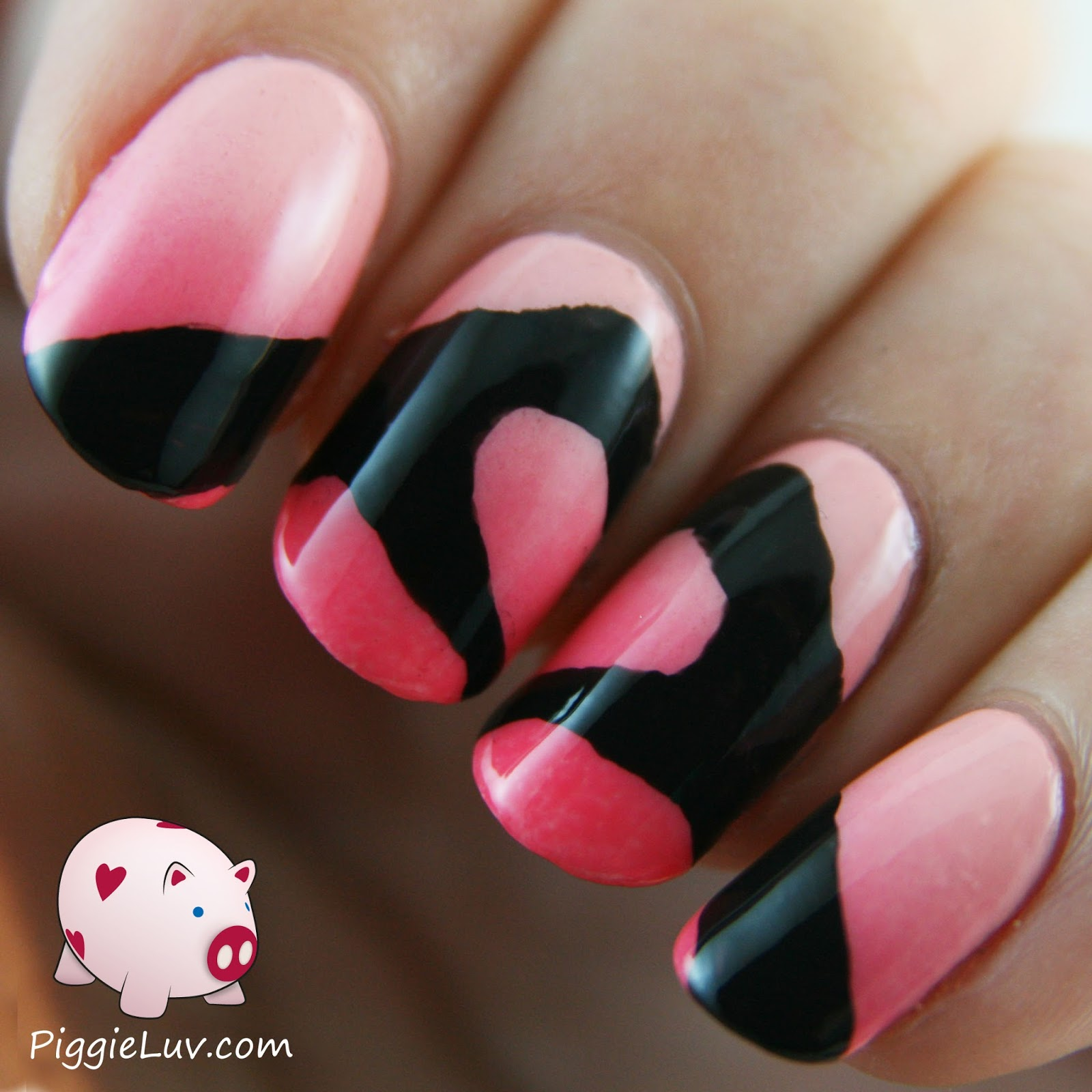 Heart Nail Art: PiggieLuv: Hands Making A Heart Nail Art