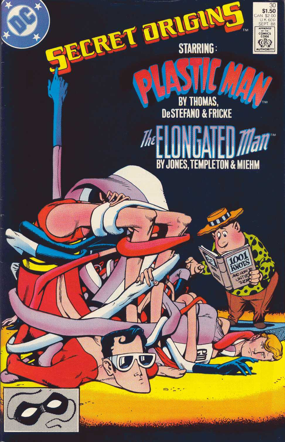 Read online Secret Origins (1986) comic -  Issue #30 - 1