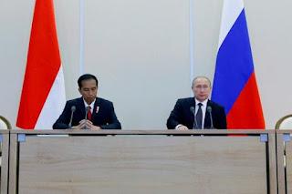 Presiden RI dan Presiden Rusia