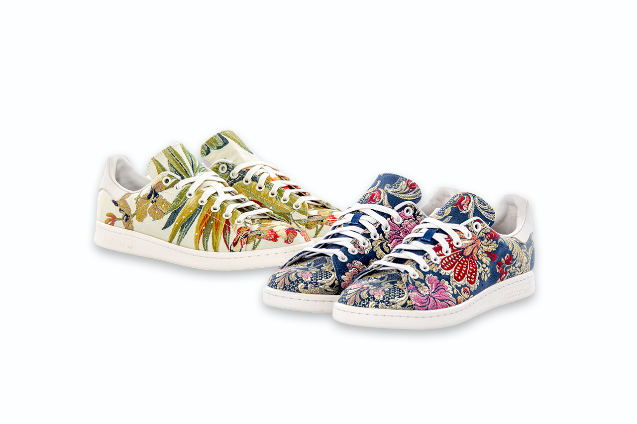 a2ec81485d82 The latest Pharrell Williams x Adidas Consortium takes inspiration from the  world-renowned Parisian fabric store Marché Saint-Pierre.