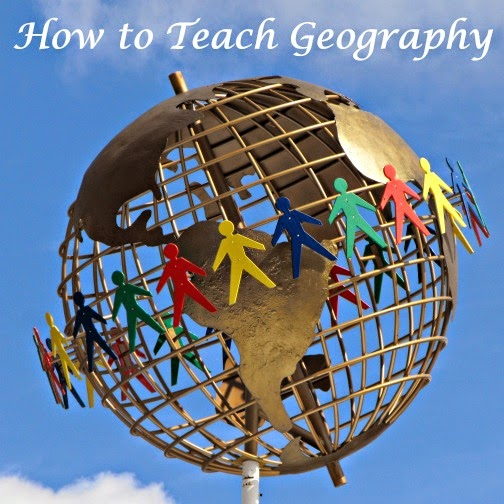 Geography resources for elementary school, age 5-10