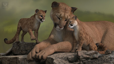 HW3D Cougar for HW3D Big Cat