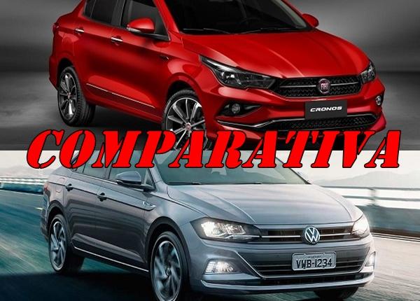 Comparativa Fiat Cronos vs Volkswagen Virtus