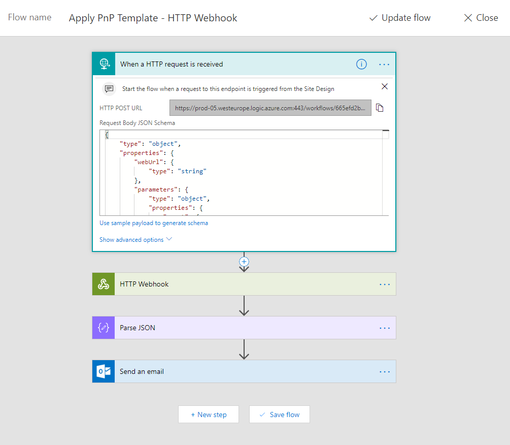 Vardhaman Deshpande: Use Flow HTTP Webhook to call Azure Function
