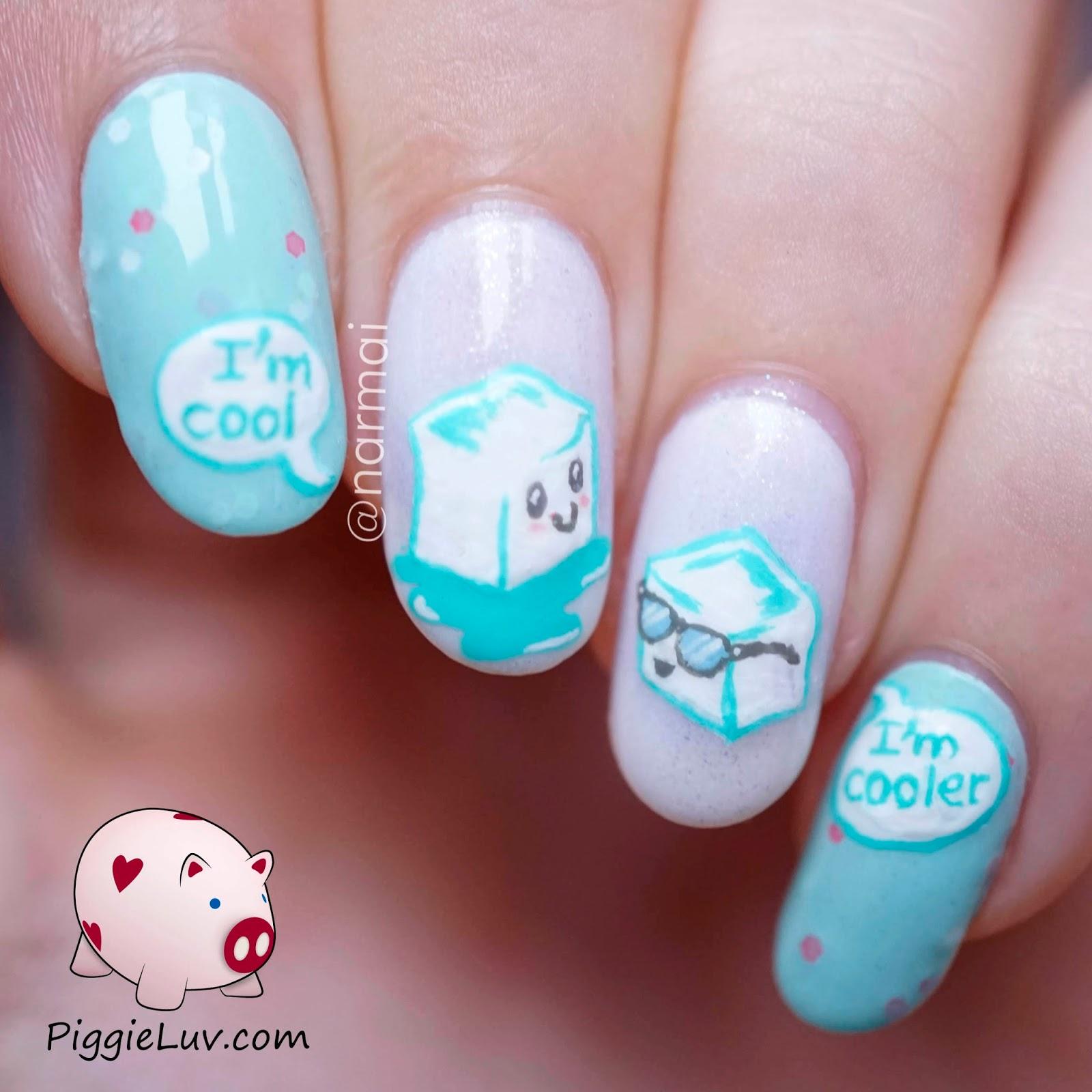Cool Nail Art: PiggieLuv: January 2015