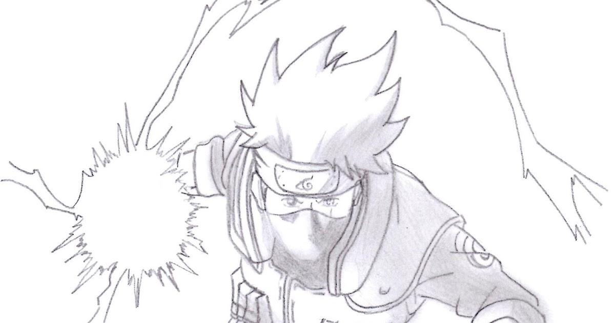 Dibujos Anime: Chidori De Kakashi /Kakashi's Chidori