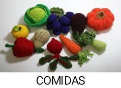 PATRONES COMIDA AMIGURUMI