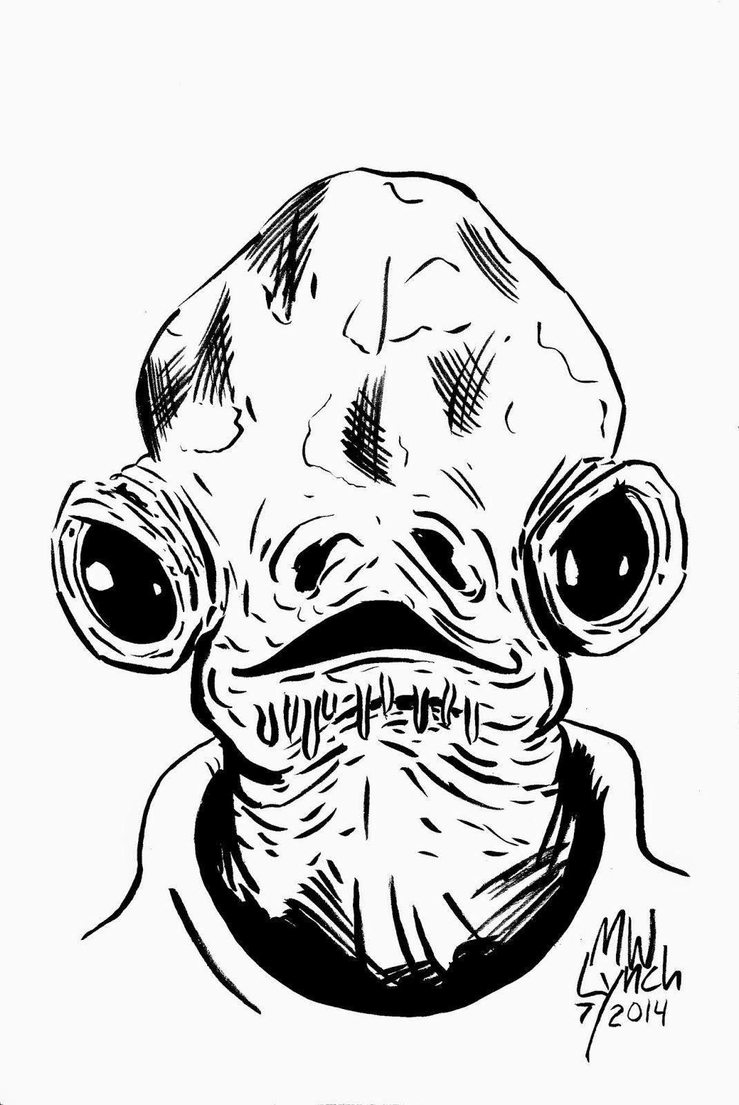Michael Lynch Art And Illustration Star Wars Wednesday 2
