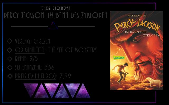 [Rezension] Percy Jackson: Im Bann des Zyklopen - Rick Riordan