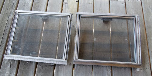 aluminum trailer windows