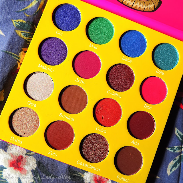 The Mini Masquerade Palette by Juvia's Place