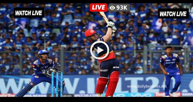 IPL 2018 Live Streaming DD vs MI Live Cricket Scores Online