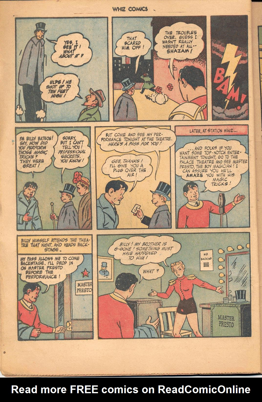 WHIZ Comics issue 71 - Page 6
