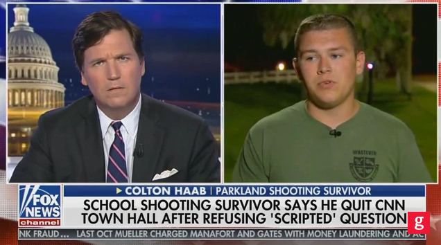 Parkland's Colton Haab: 'Absolutely' CNN Wrote the Question for Me ...