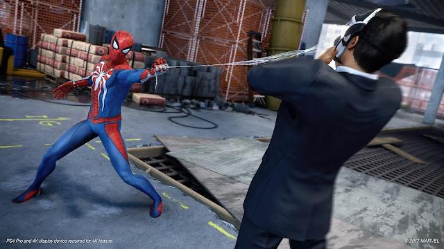 الكشف رسميا عن موعد الإطلاق النهائي للعبة Spider-Man على جهاز بلايستيشن 4
