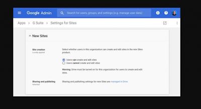 Setting Domain Di Google Sites